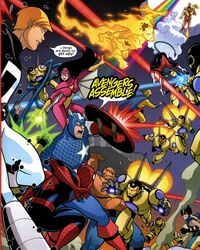 Avengers (Earth-68326) Avengers and Power Pack Assemble! Vol 1 4