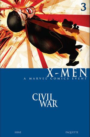 Civil War X-Men Vol 1 3