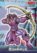 Clinton Barton (Earth-616) from Marvel Legends (Trading Cards) 0001