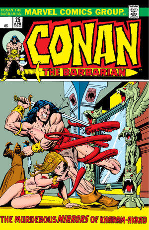 Conan the Barbarian Vol 1 25