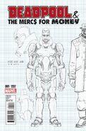 Deadpool & the Mercs for Money Vol 1 1 Design Variant