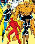 Fantastic Four (Earth-9105) from New Warriors Vol 1 11 0001