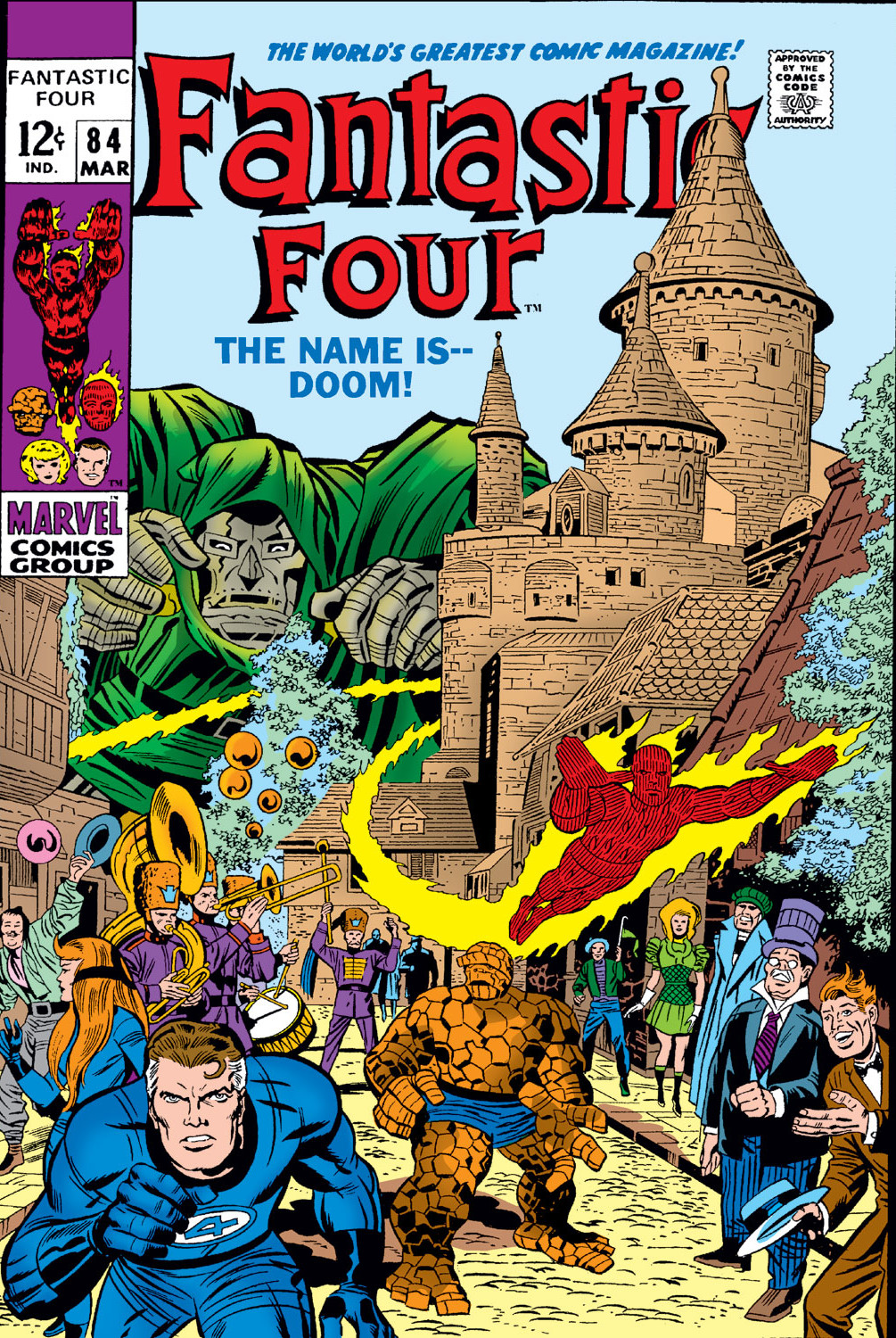 Fantastic Four Vol 1 84 | Marvel Database | FANDOM powered