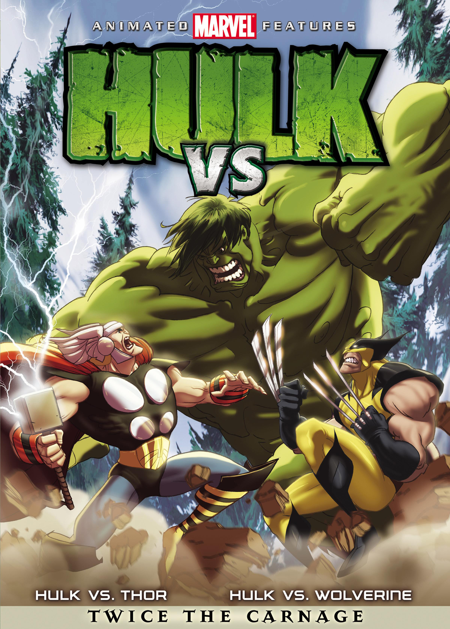 hulk vs. (film) | marvel database | fandom poweredwikia