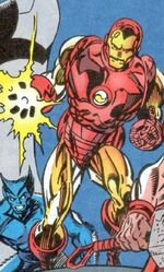 Iron Man (Taskmaster Robot) (Earth-616) Hawkeye Earth's Mightiest Marksman Vol 1 1