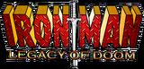 Iron Man Legacy of Doom (2008) logo