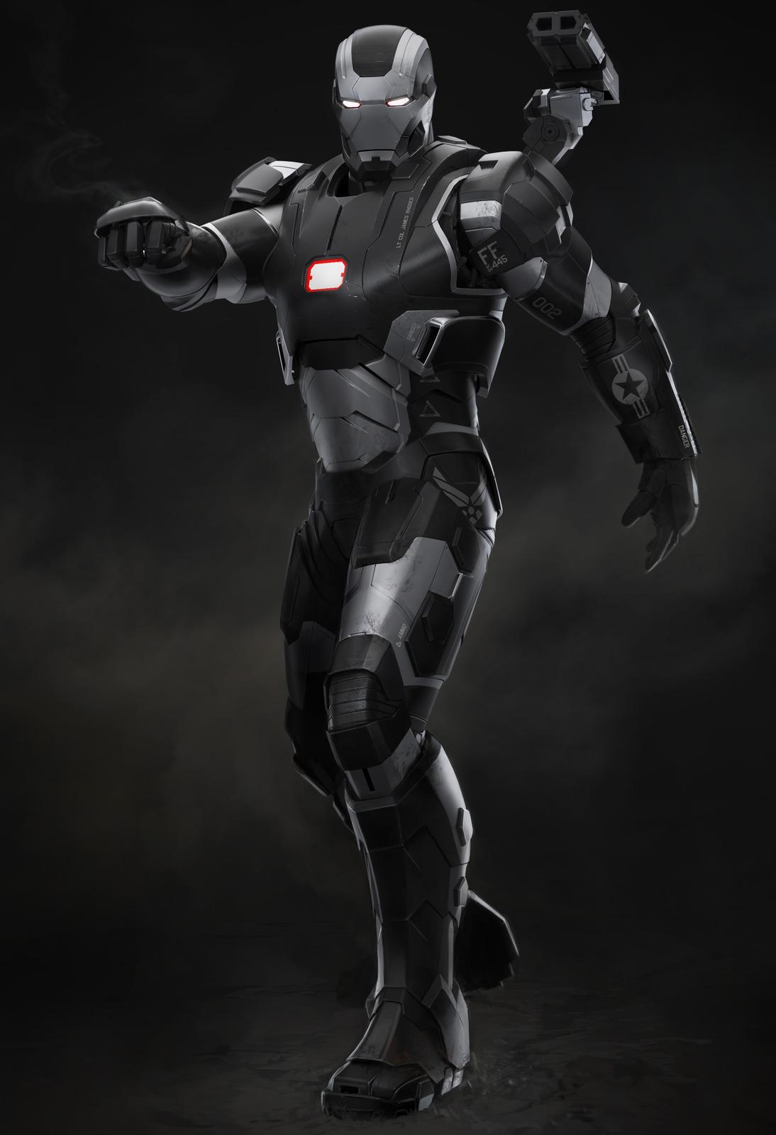 James Rhodes (Earth-199999) Iron Man 3 Concept
