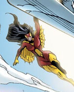 Jessica Drew (Earth-8441) from Black Panther Annual Vol 1 1 0001