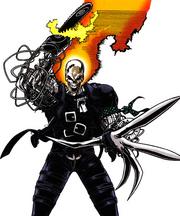 Kenshiro Cochrane (Earth-928) from Marvel Legacy The 1990s Handbook Vol 1 1 001