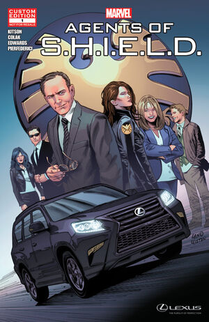 Marvel's Agents of S.H.I.E.L.D. The Chase Vol 1 1