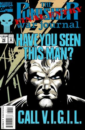 Punisher War Journal Vol 1 70