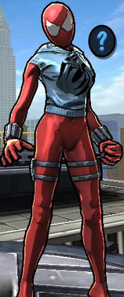 Scarlet Spider (Felicity Hardy) from Spider-Man Unlimited (Video Game) 0001