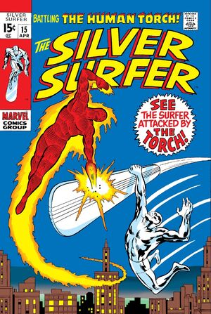 Silver Surfer Vol 1 15