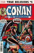 True Believers Conan - Swords in the Night! Vol 1 1