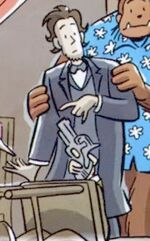 Abraham Lincoln (Earth-97666) from Fin Fang Four Return! Vol 1 1 0001