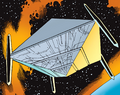 Apocalypse's Space Station from New Eternals Apocalypse Now Vol 1 1.png