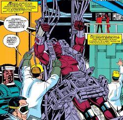 Asano Robotics (Earth-616) from Iron Man Vol 1 257