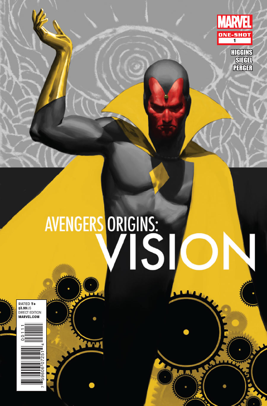 Avengers Origins: Vision Vol 1 1 | Marvel Database | FANDOM