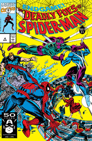 Deadly Foes of Spider-Man Vol 1 4