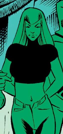 Ellen Brandt (Earth-TRN566) from Adventures of the X-Men Vol 1 11