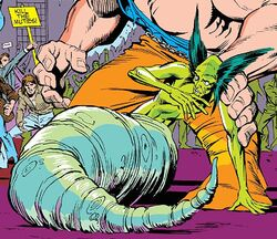 Glow Worm (Earth-616) from X-Factor Vol 1 7