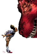 Moon Girl and Devil Dinosaur Vol 1 1 Textless