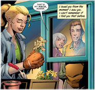 Reed Richards first falls in love with Sue Storm from Fantastic Four Vol 4 4