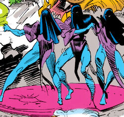 Seraphim (Akah Ma'at) (Earth-616) from Doctor Strange, Sorcerer Supreme Vol 1 49 001