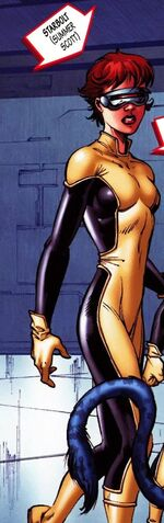 Summer Scott (Earth-80827) from New Exiles Vol 1 9 001