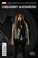 Uncanny Avengers Vol 1 14 Marvel's Agents of S.H.I.E.L.D. Variant