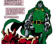 Victor von Doom (Earth-616) from Fantastic Four Vol 1 258 0001
