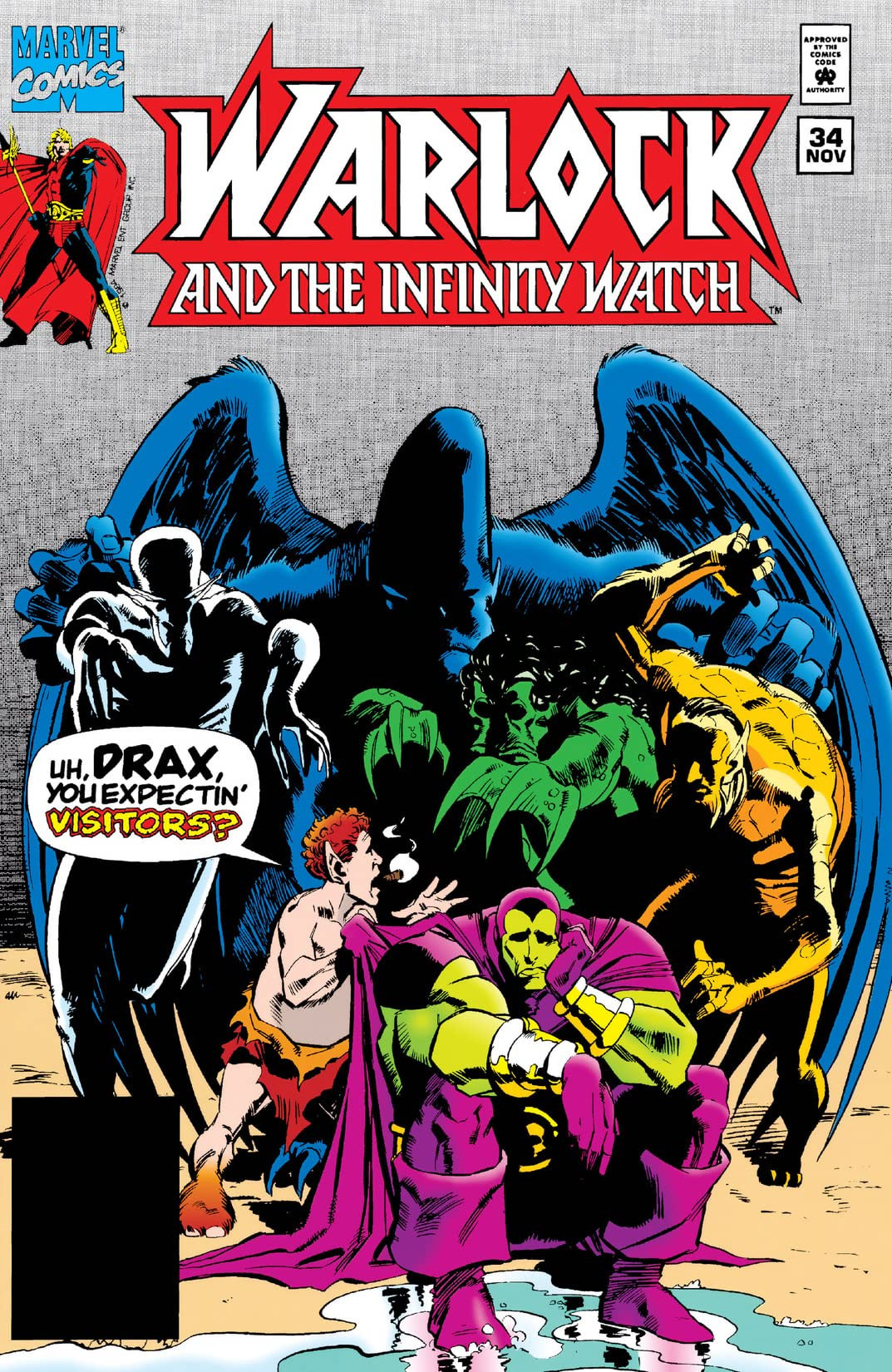 Warlock and the Infinity Watch Vol 1 34