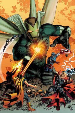 Avengers Vol 5 27 Textless