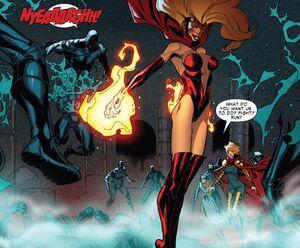 Candra (Earth-616) killing Assassins Guild (Earth-616) Scarlet Spider Vol 2 -19