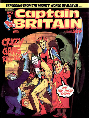 Captain Britain Vol 2 2