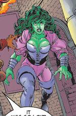Jennifer Walters (Earth-398) from Avengers Vol 3 2 0001