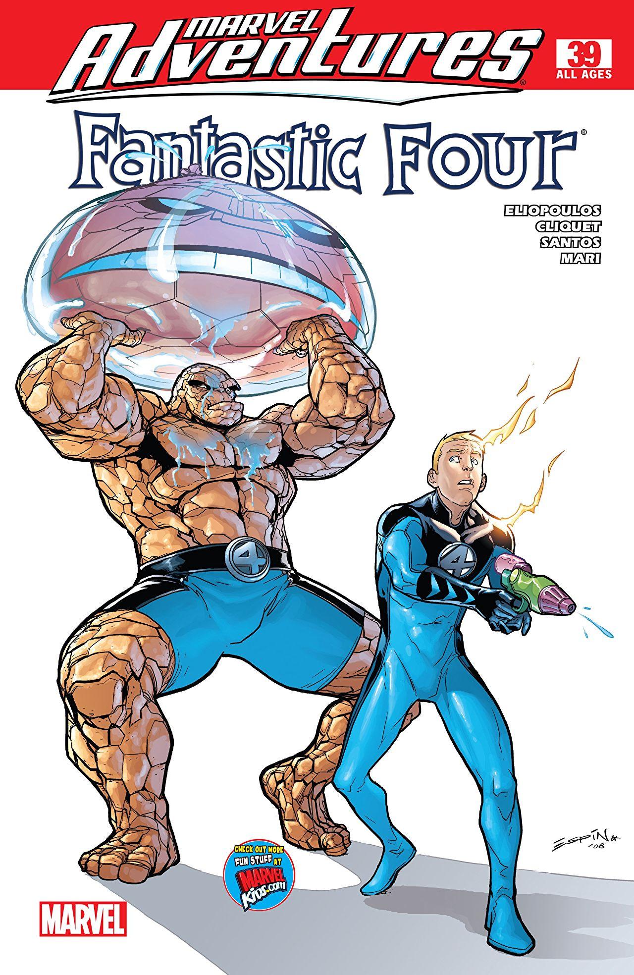 Marvel Adventures Fantastic Four Vol 1 39