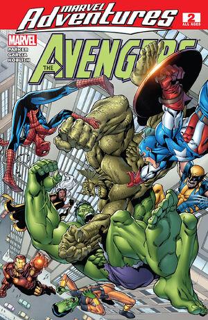 Marvel Adventures The Avengers Vol 1 2