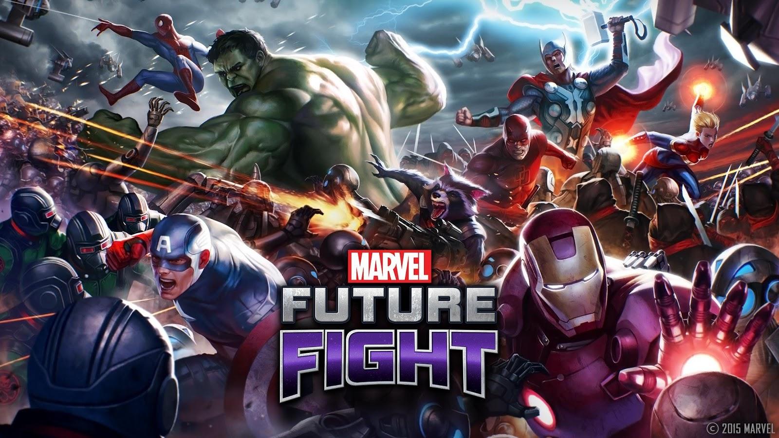 Marvel Future Fight apk android, pc et ios