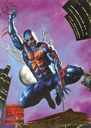 Miguel O'Hara (Earth-928) from Marvel Masterpieces Trading Cards 1995 Set 0001
