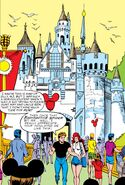 Peter Parker (Earth-616) and Mary Jane Watson (Earth-616) at Disneyland from Amazing Spider-Man Vol 1 304 002