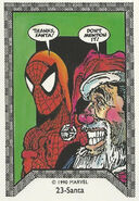 Santa Claus and Peter Parker (Earth-616) Spider-Man Team-Up (Trading Cards) 0001