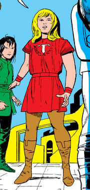 Thor Odinson (Earth-616) as a child from Journey into Mystery Vol 1 113