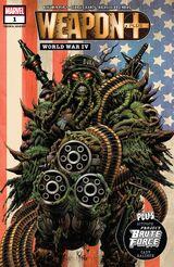 Weapon Plus: World War IV Vol 1 1