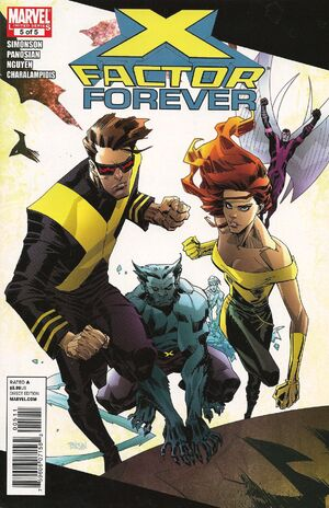 X-Factor Forever Vol 1 5