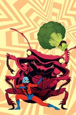 Astonishing Ant-Man Vol 1 1 Kirby Monster Variant Textless