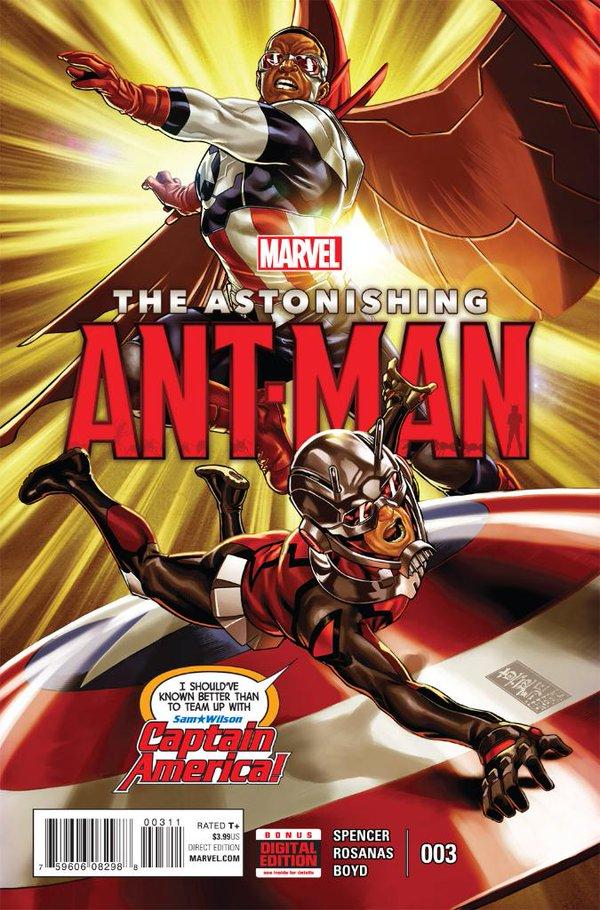 Astonishing Ant Man Vol 1 3 Marvel Database Fandom