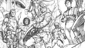 Avengers 15 Stefano Caselli Talks Process - Marvel AR