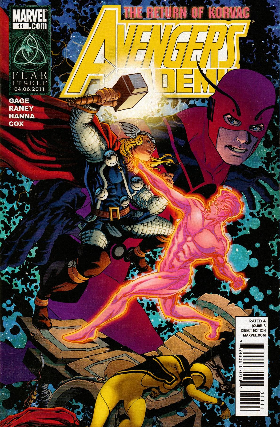 Avengers Academy Vol 1 11