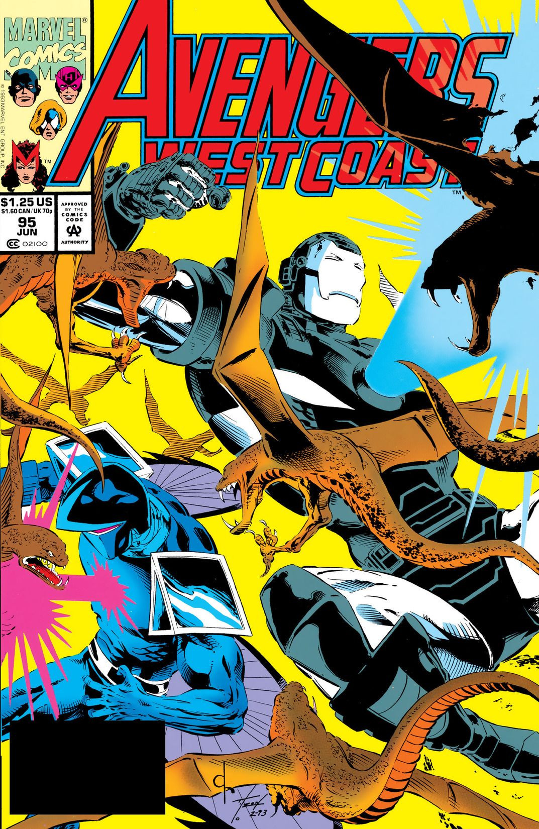 Avengers West Coast Vol 2 95